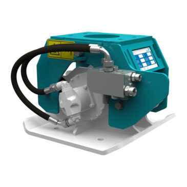 Hyrax 125 hydraulic compactor 1.2 – 2.5 ton