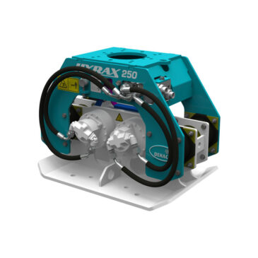 Hyrax 250 hydraulic compactor 3.5 – 9 ton