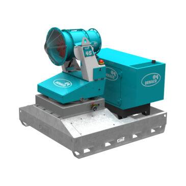 Tera 45 dust control unit including Combi Skid