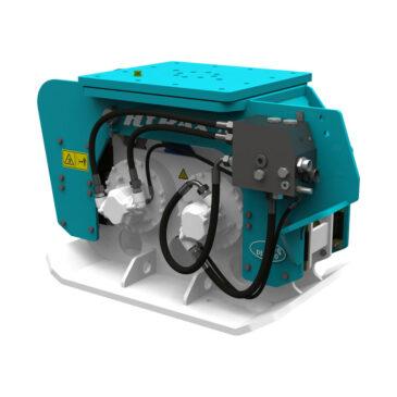 Hyrax 700 hydraulic compactor 13 – 25 ton