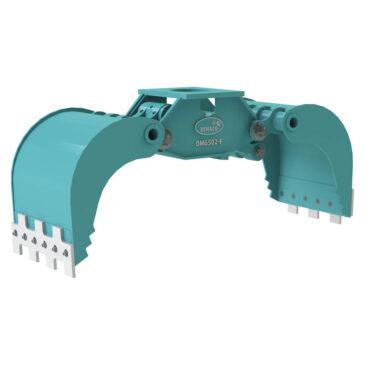DMG502-F hydraulic multi grab without rotation 7 – 12 ton