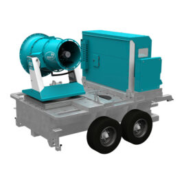 Tera 60 GTM all-in-one dust control unit with agriculture undercarriage