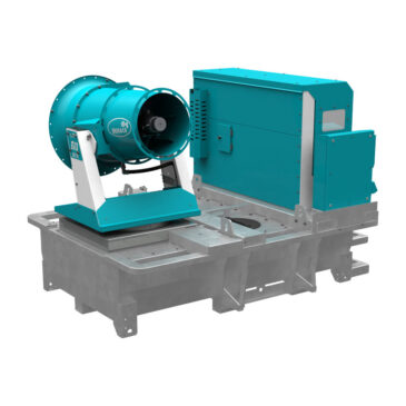Tera 60 GTX all-in-one dust control unit